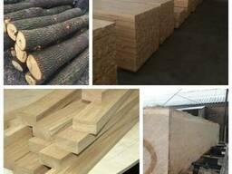 Дубовая Обрезная доска oak board