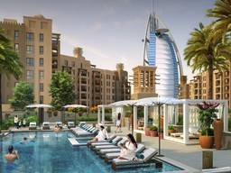 Apartments in front of the main attraction of Dubai! From 353 934 $