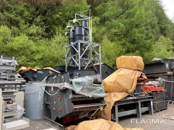 Б/У дробильная установка для песка SANDVIK CH 540 CH 550, VSI CV217 (2018 г. , новая)