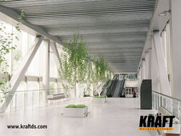 Designed suspended ceilings KRAFT from the manufacturer - фото 4