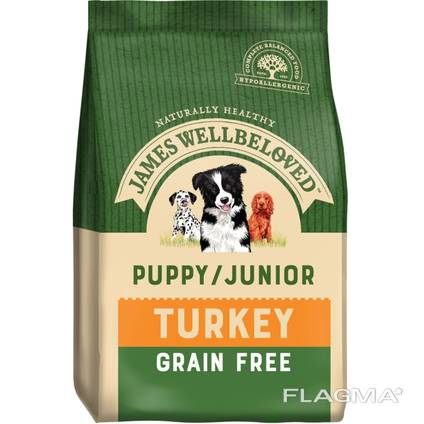 Dog food canned dry available in all quantities