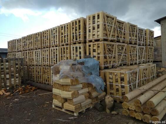 Дрова колотые дубовые на экспорт из Украины в Дубаи