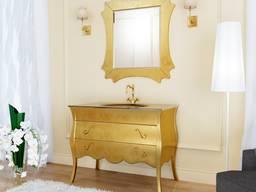 Furniture set, cabinet, sink, mirror