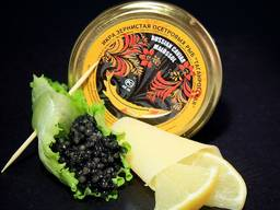 Gold and black caviar 100% natural product