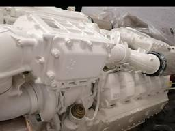 Man D2862Le436 ( v12-1800) marine propulsion engines 1800 hp unused new/w. ZF2070V gears