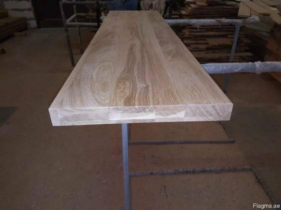 Мебельный Щит из евробруса Дуб