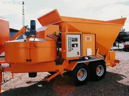 Мобильный бетонный завод Sumab B-15-1200 (20 м3/ч) Швеция - фото 5