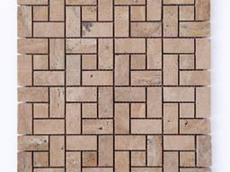 Мозайка из травертина - фото 6