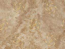 Tiles and slabs made of travertine