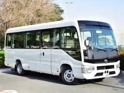 Toyota Coaster 2,7L Petrol, Manual Transmission 2020 model.