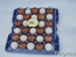 Tray for chicken eggs from PET transparent packaging - photo 3
