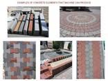 Вибропресс для производства тротуарной плитки, бордюров R300 - фото 7