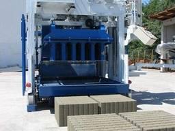 Блок-машина Мобильный для производства бордюров, блоков